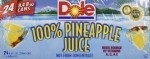 pineapple juice with bromelain