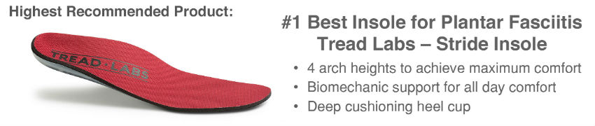 Tread Labs Insole for Plantar Fasciitis