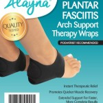 plantar fasciitis arch support wrap therapy