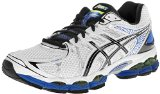 running shoe men ASICS GEL Nimbus 16 mid sole provides bounce for runners