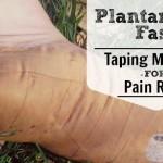 plantar fasciitis taping