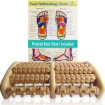 theraflow large multiple wooden massage rollers