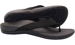 IRSOE Plantar Fasciitis Feet Sandal Flip Flops with Arch Support Women's Orthotic Sandals