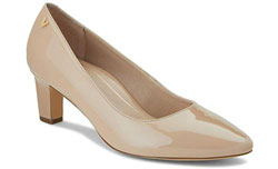 Ladies Pumps with Concealed Orthotic Support