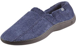 ISOTONER Men's Terry Moccasin Slipper
